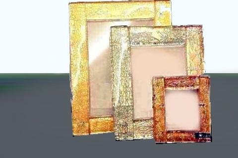 vetro soffiato murano porta foto con cornici in vetro