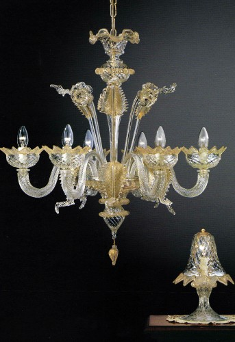 Vetro soffiato murano lampade e lampadari veneziani for Lampadari murrina moderni